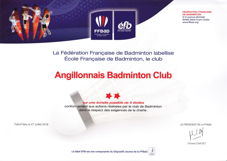 École Française de Badminton